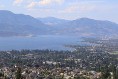 Travel to destination lake and wine country in Canada. stock photos