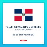 Travel to Dominican Republic. Discover and explore new countries. Adventure trip. Stock Photography