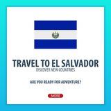Travel to El salvador. Discover and explore new countries. Adventure trip. Stock Photo
