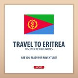 Travel to Eritrea. Discover and explore new countries. Adventure trip. Stock Photos