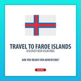 Travel to Faroe Islands. Discover and explore new countries. Adventure trip. Royalty Free Stock Image