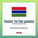 Travel to The Gambia. Discover and explore new countries. Adventure trip. Royalty Free Stock Photo
