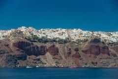 Travel to Greece. Beautiful  Santorini Stock Images