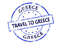 Travel to Greece Royalty Free Stock Image