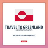 Travel to Greenland. Discover and explore new countries. Adventure trip. Stock Photography