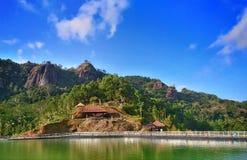 Travel to gunungkidul Stock Images