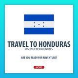 Travel to Honduras. Discover and explore new countries. Adventure trip. Stock Photography