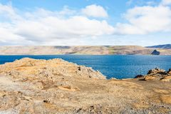 View of Kleifarvatn lake in Iceland Stock Photography