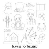 Travel to Ireland Royalty Free Stock Photo