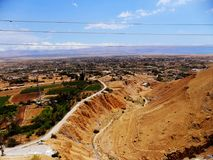 Israel, Middle East,  Jericho, Mount of Temptation Stock Photography