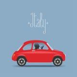 Travel to Italy illustration Royalty Free Stock Photos