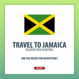 Travel to Jamaica. Discover and explore new countries. Adventure trip. Stock Photography