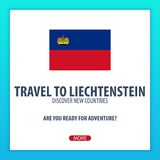 Travel to Liechtenstein. Discover and explore new countries. Adventure trip. Stock Image