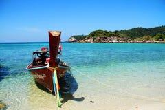 Travel to Lipe Island Satun Thailand Stock Image