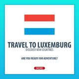 Travel to Luxemburg. Discover and explore new countries. Adventure trip. Stock Photos