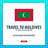 Travel to Maldives. Discover and explore new countries. Adventure trip. Stock Photos