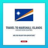 Travel to Marshall Islands. Discover and explore new countries. Adventure trip. Royalty Free Stock Images