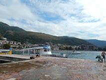 Travel to Montenegro on the Adriatic Sea royalty free stock photos