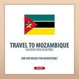 Travel to Mozambique. Discover and explore new countries. Adventure trip. Stock Photography