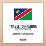 Travel to Namibia. Discover and explore new countries. Adventure trip. Stock Images
