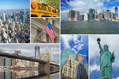 Travel to New York City Royalty Free Stock Photography