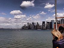 Travel to New York. In a summer day Stock Photography