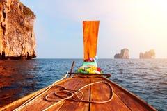 Travel to the paradise island Stock Image