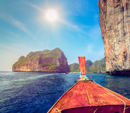 Travel to the paradise island Stock Images