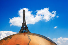 Travel to Paris Royalty Free Stock Photo
