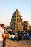 Travel to Phnom Bakheng Stock Photo