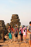 Travel to Phnom Bakheng Royalty Free Stock Photo