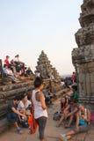 Travel to Phnom Bakheng Royalty Free Stock Images