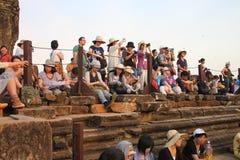 Travel to Phnom Bakheng Royalty Free Stock Image