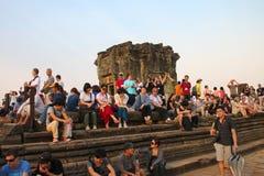 Travel to Phnom Bakheng Stock Photography