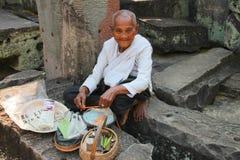 Travel to Prasat Preah Khan Stock Photos
