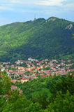 Travel to Romania: Brasov and Tampa Hill Royalty Free Stock Image