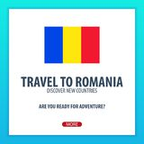 Travel to Romania. Discover and explore new countries. Adventure trip. Stock Photography