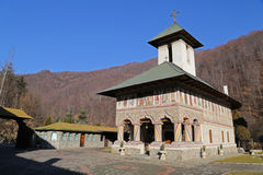 Travel to Romania: Lainici Monastery old church Stock Photo