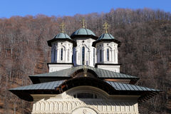 Travel to Romania: Lainici new church details Royalty Free Stock Photography
