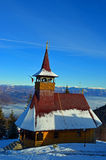 Travel to Romania: Straja  Resort Church Stock Photography