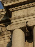 Travel to Rome or Greece and see ancient columns and pillars. Royalty Free Stock Images