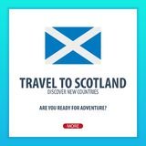 Travel to Scotland. Discover and explore new countries. Adventure trip. Stock Photography