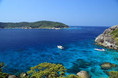 Travel to the Similand Islands Stock Images