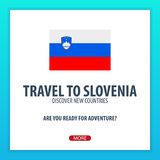 Travel to Slovenia. Discover and explore new countries. Adventure trip. Stock Photography