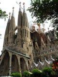 Spain, Barcelona, Sagrada Familia. Travel to the Spain, visit city of Barcelona royalty free stock image