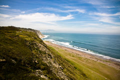 Travel to spanish atlantic coast, basque country Stock Photos