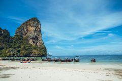 Free Travel To The Beach And The Sea Krabi Stock Photo - 148485670