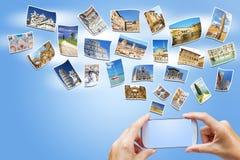 Travel to Tuscany concept Italy Stock Photo