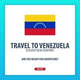 Travel to Venezuela. Discover and explore new countries. Adventure trip. Stock Images