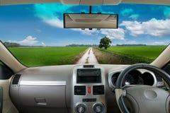 Travel to village Stock Image